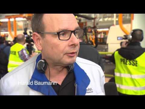 Hinter den Kulissen: Das Volkswagen Nutzfahrzeuge Werk in Hannover.
