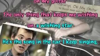 Teardrops on my guitar Karaoke instrumental - Taylor Swift