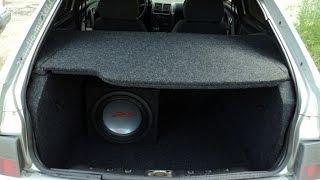 видео Делаем акустическую полку ВАЗ 2114 своими руками