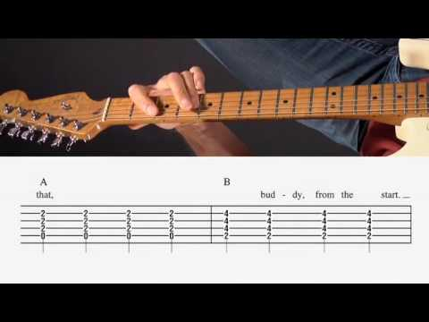 Guitar Lesson - Bad Case of Loving You - Chords - YouTube