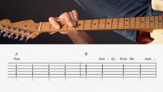 Guitar Lesson - Bad Case of Loving You - Chords