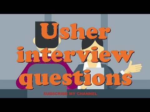 Download Usher interview questions