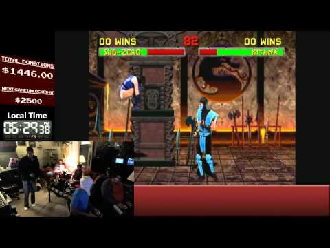 Mortal Kombat 2 Auction Tournament - Video Game Nightmarathon 2012
