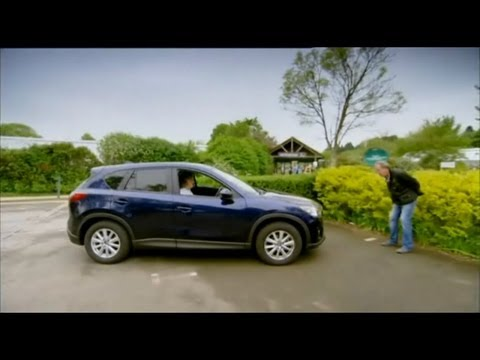 Top Gear - Jeremy Clarkson and James May test the Mazda CX-5's automatic braking system