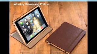 Ipad Air 2 Cases From Pad And Quill - Natural Handcrafted Genuine Leather