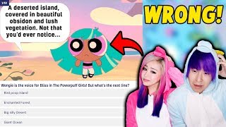 The SUPER TRICKY Wengie Quiz! How Well Do We Know Wengie?