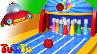 TuTiTu (ТуТиТу) Игрушки | Цветной боулинг