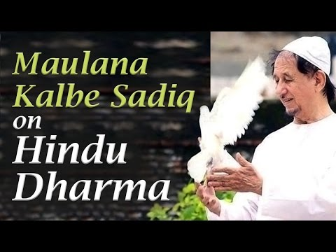Maulana Kalbe Sadiq on Hindu Dharma at Art of Living Bangalore Ashram