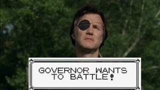 The Walking Dead - Rick and Governor Pokemon Fight