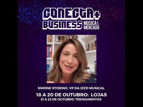 Simone Storino, Vice Presidente da Izzo Musical, tem um recado para você!