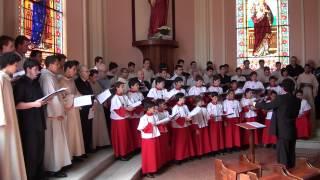Aleluia (gregoriano) / Verbum caro factum est (Hassler) - Canarinhos de Petrópolis - 20121225