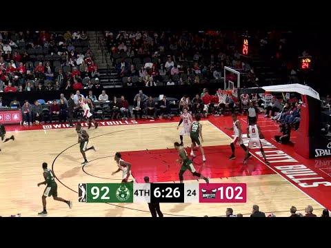 Joel Bolomboy Posts 17 points & 14 rebounds vs. Windy City Bulls