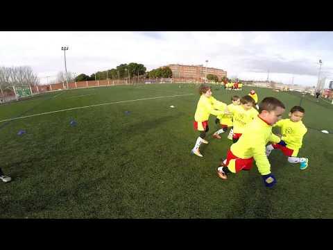 Campus Fútbol Lecop Navidad 2017 en Zaragoza