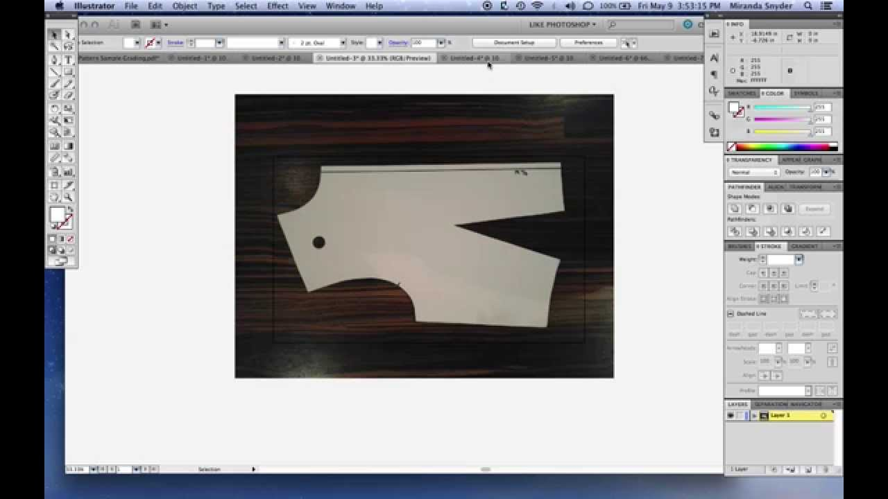 shipyard software pattern digitizing photo digitizer