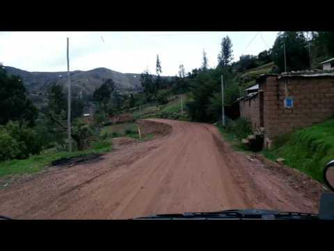 Hermoso  paseo por la nueva carretera de vilcashuaman  y vischongo (primera parte)
