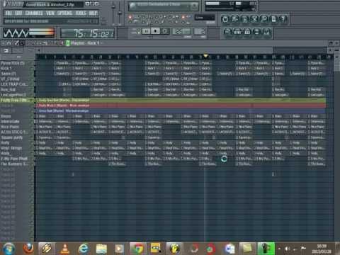 Fl Studio Remake Of Lil Wayne - Bitches love Me (Good Kush And Alcohol)(+ Free FLP and MP3)