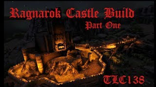 Ark Survival Evolved Ragnarok Castle Bridge Build Part 1