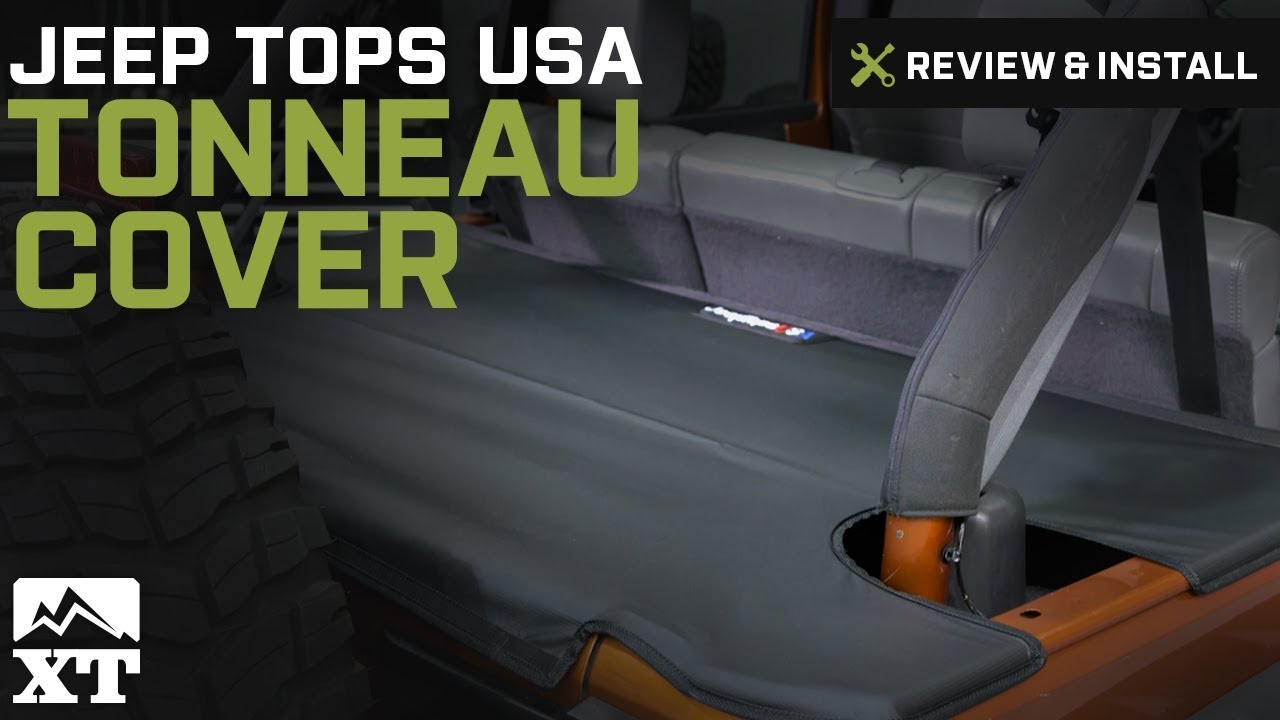 Jeep Wrangler Jeep Tops Usa Tonneau Cover 2007 2016 Jk Review Install Youtube