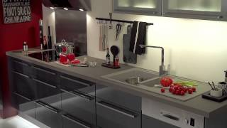 conforama mon projet cuisine 2015 youtube. Black Bedroom Furniture Sets. Home Design Ideas