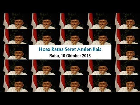 LIVE ® HOAX RATNA SERET AMIEN RAIS