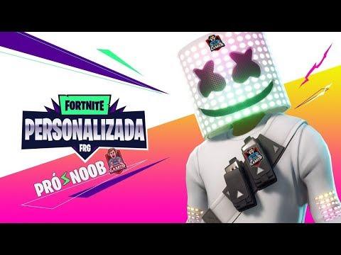 🔴 AO VIVO LIVE PERSONALIZADA ROLANDO   FORTNITE BATTLE ROYALE