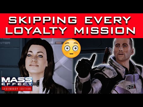 Can You Survive Mass Effect 2 Without Doing Any Loyalty Missions? |
