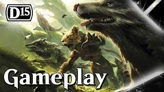 Magic 2015: Wolf Aggro Gameplay (1080p)