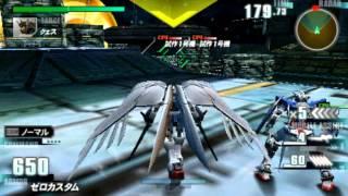 """Gundam Vs Gundam Next Plus Wing Zero Custom Boss Route Gameplay """"This Gundam is BAUS!"""""""