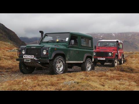Gatescarth pass April 2015 - Lake District, Cumbria, UK Green laning Land Rover Defender TD5 TDI