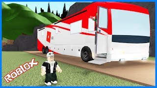 We're Joining New Adventures by Bus! Roblox Trip with Bus Panda!