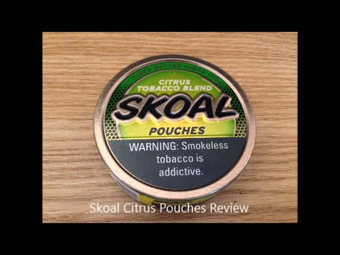 skoal citrus pouches review
