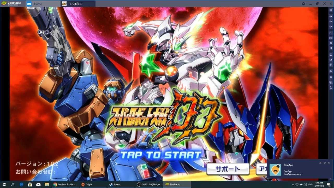 [GG Mobile] Super Robot Taisen DD : เกม Turn-Base รวมอนิเมะหุ่นเหล็กชื่อดัง สู่ฉบับมือถือสุดมันส์!!