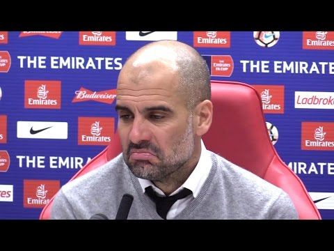 Middlesbrough 0-2 Manchester City - Pep Guardiola Full Post Match Press Conference - FA Cup