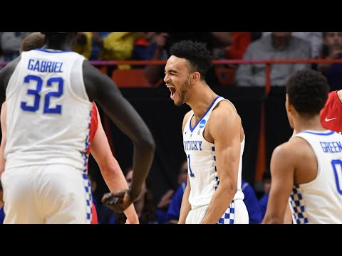 Kentucky outlasts Davidson in the First Round