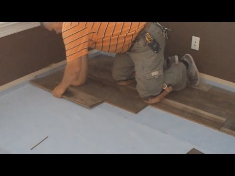 How To Install Laminate Flooring Diy Floating Floor Installation