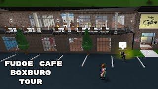 Fudge cafe tour!!! / Bloxburg Roblox