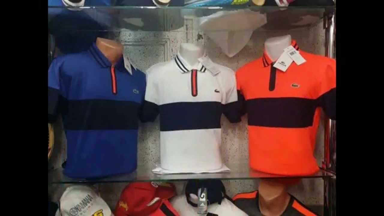 0159eb13b1b Lacoste T-shirt 2015 Lacoste w Larini - YouTube