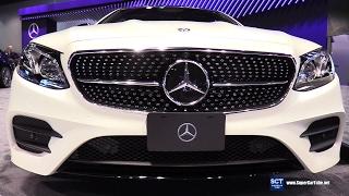 2018 Mercedes-Benz E Class Coupe E400 4matic - Exterior Interior Walkaround - 2017 Chicago Auto Show
