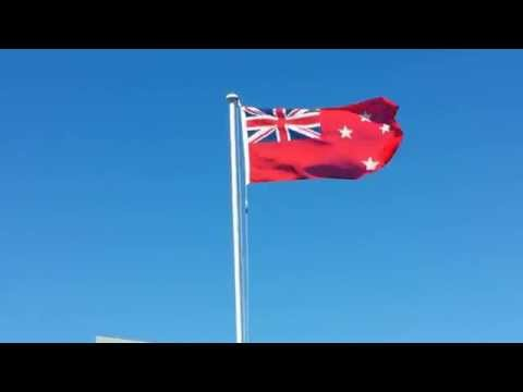 New Zealand Ensign Flag.