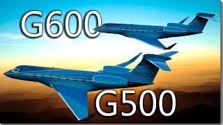 Gulfstream G500 and G600 - the advanced jet brothers