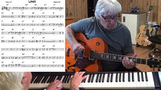 Lover - Jazz guitar & piano cover ( Rogers & Hart )