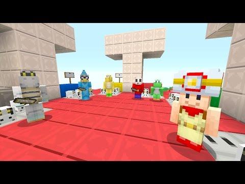 Minecraft Wii U - Super Mario Series - DEATH MATCH TRIVIA! [138]