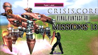 Let's Play Crisis Core: Final Fantasy VII #17[M-6] - Missions 13