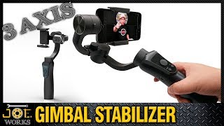 Gimbal Estabilizador para Celular JCRobot S5 Handheld bluetooth. | JOE Works