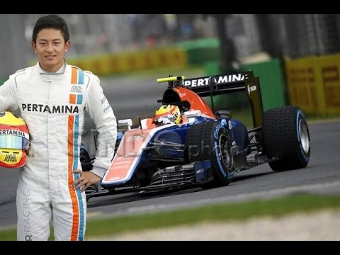First Indonesian Driver in F1 Rio Haryanto Manor Racing F1 2016