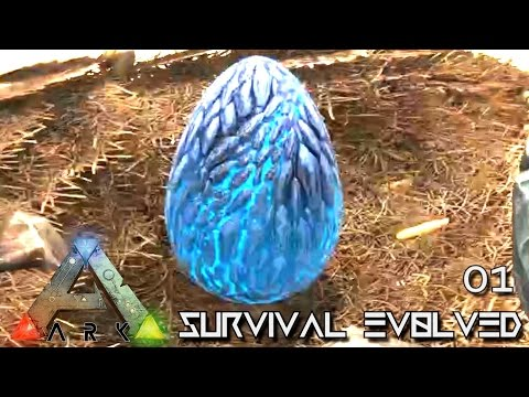 ARK: SURVIVAL EVOLVED - WYVERN EGG A THIEVES LUCKY START !!!