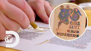 How To Make Illuminated Manuscripts Using Traditional Techniques | History In The Making