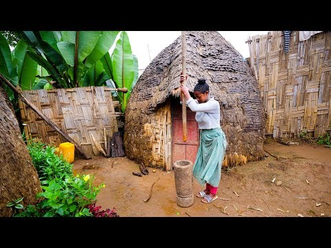 Incredible UNSEEN FOOD of AFRICA - Dorze Ethnic Group in Ethiopia!