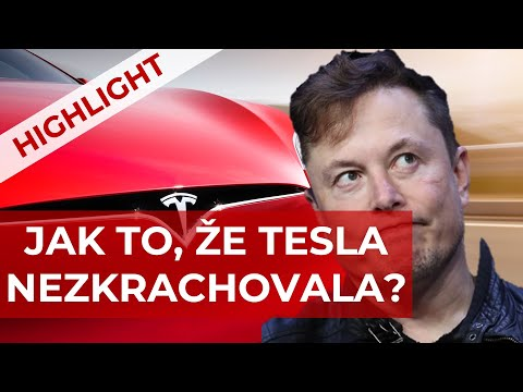 Proč je Tesla narušitel trhu? #2 Správný plán