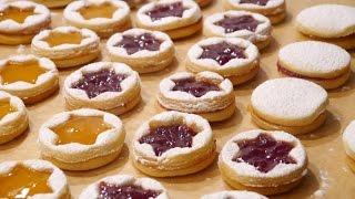 Marmelatlı Kurabiye Tarifi | Weihnachtskekse